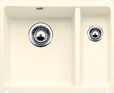Кухонная мойка без крыла, керамика, магнолия глянцевая Blanco Subline 350/150-U PuraPlus 519597
