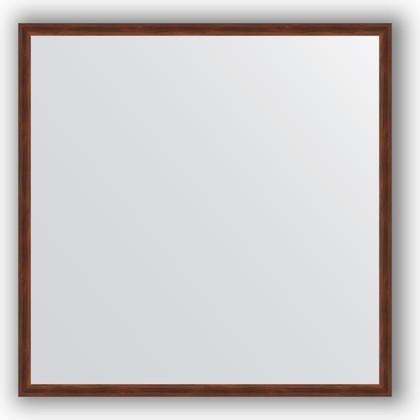 Зеркало 58x58см в багетной раме орех Evoform BY 0603