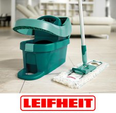 Уборка в доме в два счёта! Наборы для мытья полов от Leifheit помогут вам