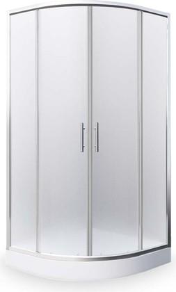 Душевой уголок Roth Houston, 90x90см, матовое стекло, хром N0649