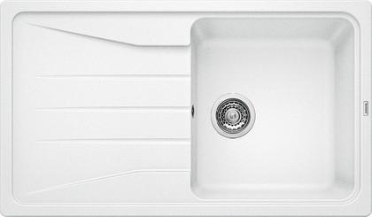 Кухонная мойка оборачиваемая с крылом, гранит, белый Blanco SONA 5 S 519674