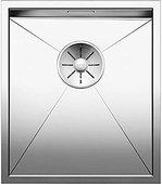 Кухонная мойка Blanco Zerox 340-IF, отводная арматура, полированная сталь 521582
