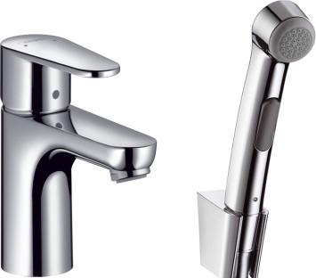 Смеситель для раковины с гигиеническим душем Hansgrohe Talis E² 31165000