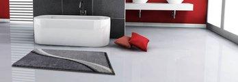 Коврик для ванной 50x60см серый Grund Luca b3742-076001096