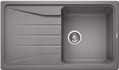 Кухонная мойка оборачиваемая с крылом, гранит, алюметаллик Blanco Sona 5 S 519673