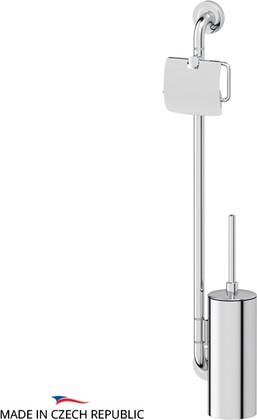 Стойка с аксессуарами для туалета, хром Ellux ELE 077