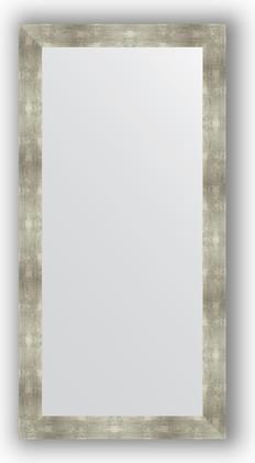 Зеркало в багетной раме 80x160см алюминий 90мм Evoform BY 3346