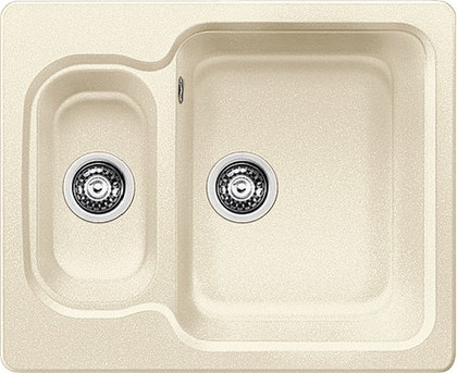 Кухонная мойка оборачиваемая 2 чаши, гранит жасмин Blanco Nova 6 521371