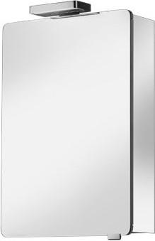 Зеркальный шкаф 50x76см с подсветкой однодверный, петли слева Keuco ELEGANCE 21601171201
