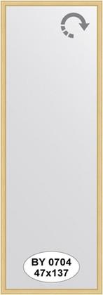 Зеркало 47x137см в багетной раме сосна Evoform BY 0704