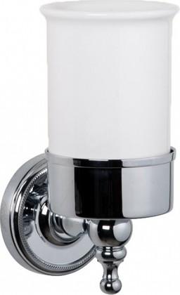 Стаканчик настенный керамический, хром TW Bristol TWBR109cr