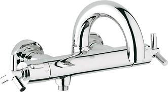 Термостат для ванны с поворотным изливом, хром Grohe ATRIO 34061000