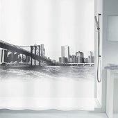 Штора для ванной Spirella New Brook, 180x200см, белый 4007574
