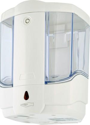 Дозатор для жидкого мыла автоматический (сенсорный), белый Connex ASD-80 White