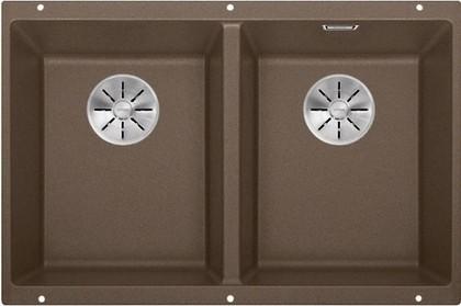 Кухонная мойка Blanco Subline 350/350-U, отводная арматура, мускат 523582