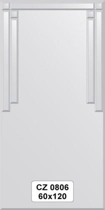 Зеркало для ванной 60x120см с декором FBS CZ 0806