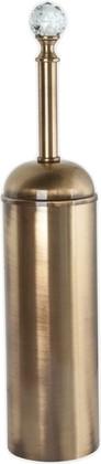 Ёрш для туалета напольный, бронза с кристаллом swarovski TW Crystal TWCR020br-sw