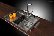 Смеситель однорычажный для кухонной мойки, хром Omoikiri Tanigawa-S-С 4994120