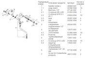 Настенный вентильный смеситель для кухонной мойки, хром Grohe COSTA L 31187001