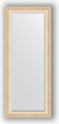 Зеркало 65x155см с фацетом 30мм в багетной раме старый гипс Evoform BY 1282