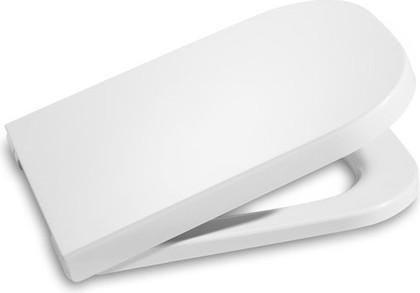 """Сиденье и крышка с механизмом """"мягкое закрывание"""" для унитаза Clean Rim, белый Roca The GAP 801732004"""
