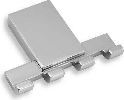 Крючок для полотенец Novaservis Metalia-9, четверной, хром 0943.0