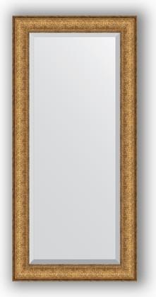 Зеркало 54x114см с фацетом 30мм в багетной раме медный эльдорадо Evoform BY 1243