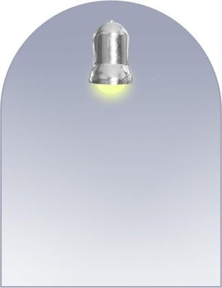 Зеркало со светильником 50х65см Dubiel Vitrum SOLO 5905241016030