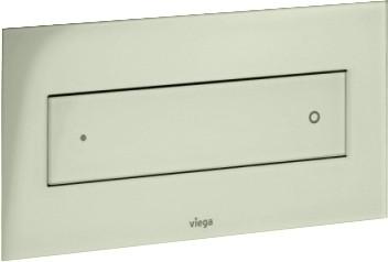 Кнопка смыва для унитаза, светло-серое прозрачное стекло Viega Visign for Style 12 687854