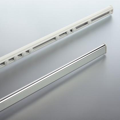 Карниз для шторы в ванную 125-210см телескопический, хром Spirella Surprise 1032158