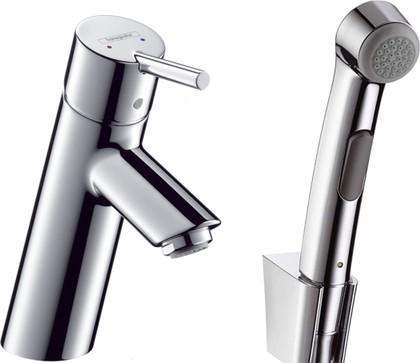 Смеситель для раковины с гигиеническим душем, хром Hansgrohe Talis 32140000