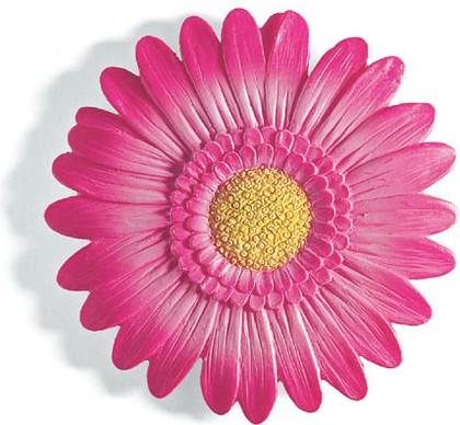 Декор для ванной розовый, 2шт Spirella GERBERA 1042990