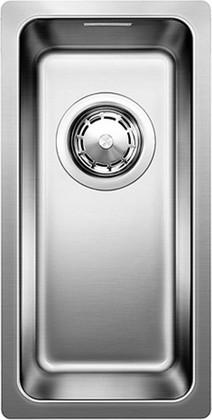 Кухонная мойка оборачиваемая без крыла, нержавеющая сталь зеркальной полировки Blanco ANDANO 180-U 518301