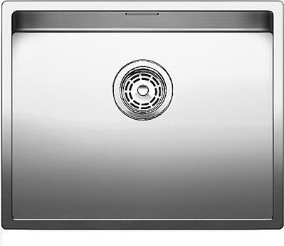 Кухонная мойка без крыла, нержавеющая сталь зеркальной полировки Blanco Claron 550-U 517221