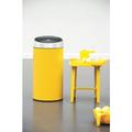 Ведро для мусора 45л жёлтое Brabantia Touch Bin 424601