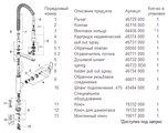 Смеситель для кухни однорычажный с выдвижным изливом, хром Grohe K7 32950000