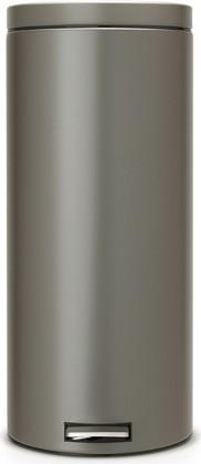 Мусорный бак 30л с педалью, MotionControl, платиновый Brabantia 288326