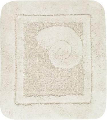 Коврик для ванной 55x65см натуральный Spirella Escargot 1041084