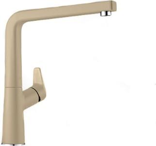 Смеситель кухонный однорычажный с высоким изливом, SILGRANIT шампань Blanco AVONA 521272