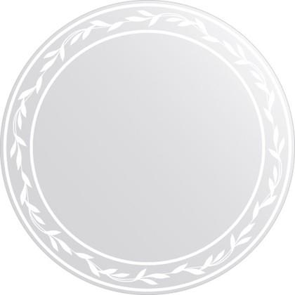 Зеркало для ванной с орнаментом диаметр 60см FBS CZ 0724