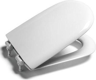 Сиденье для унитаза с крышкой и системой плавного опускания Roca GIRALDA ZRU9000047