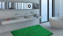 Коврик для ванной 60x90см зелёный Grund NEO 2581.14.7282
