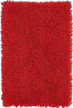 Коврик для ванной 60x90см красный Grund CORALL 2561.14.7012