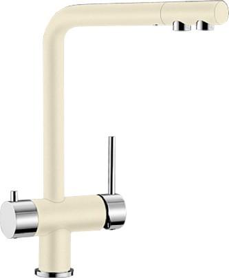 Смеситель кухонный однорычажный с высоким изливом для обычной и питьевой воды, жасмин Blanco FONTAS 518507