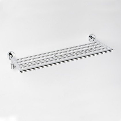 Полка для полотенец с крючками 270x650мм Bemeta Omega 104205162