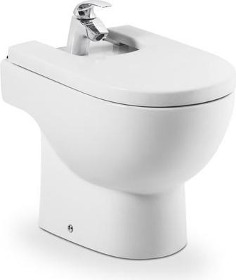 Керамическое напольное белое биде Roca MERIDIAN 357244000