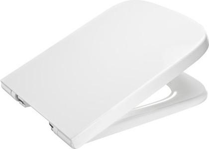 """Лакированное сиденье и крышка с механизмом """"мягкое закрывание"""" для унитаза, белый Roca DAMA 801782004"""