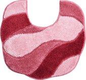 Коврик для туалета Grund Carmen, 50x55см, полиакрил, розовый 2048.04.4149