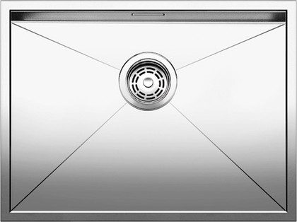 Кухонная мойка без крыла, нержавеющая сталь зеркальной полировки Blanco ZEROX 550-IF 517246