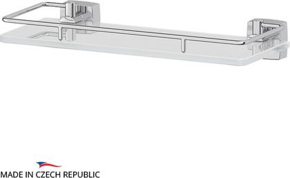 Полка для ванной с ограничителем 30см, стекло FBS ESP 013